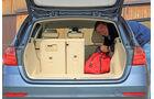 BMW 320i Touring, Kofferraum, Rücksitz