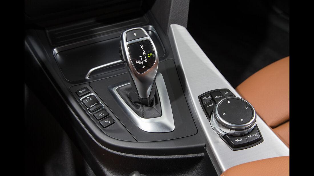 BMW 320i Touring, Schalthebel