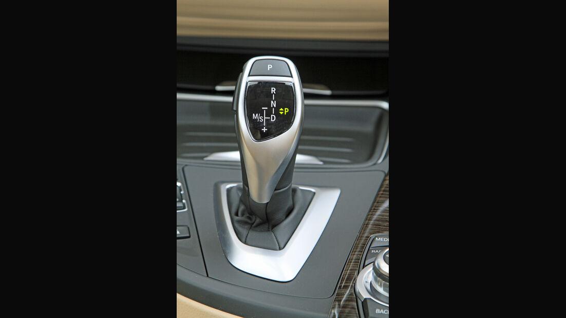 BMW 320i Touring, Schalthebel, Schaltknauf
