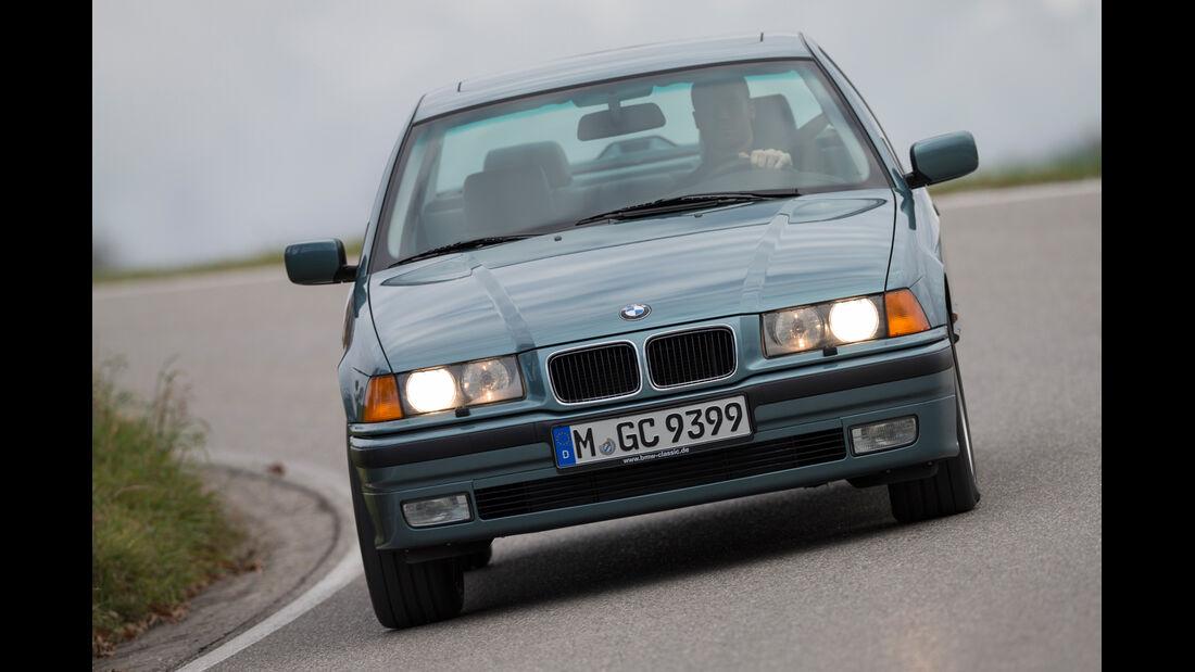 BMW 323i, Frontansicht