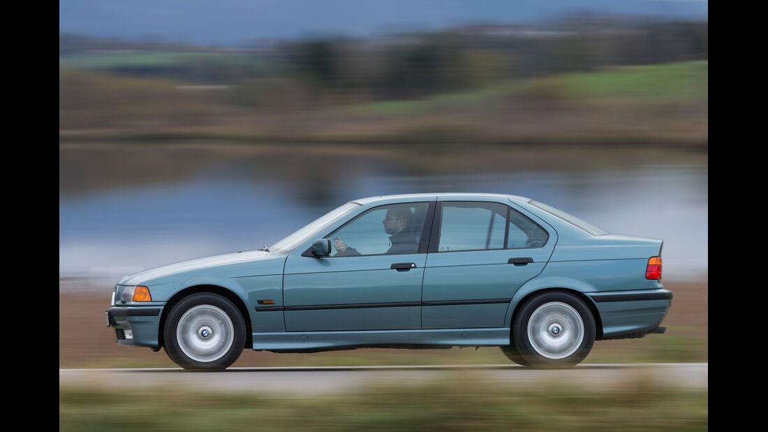 BMW 323i, Seitenansicht