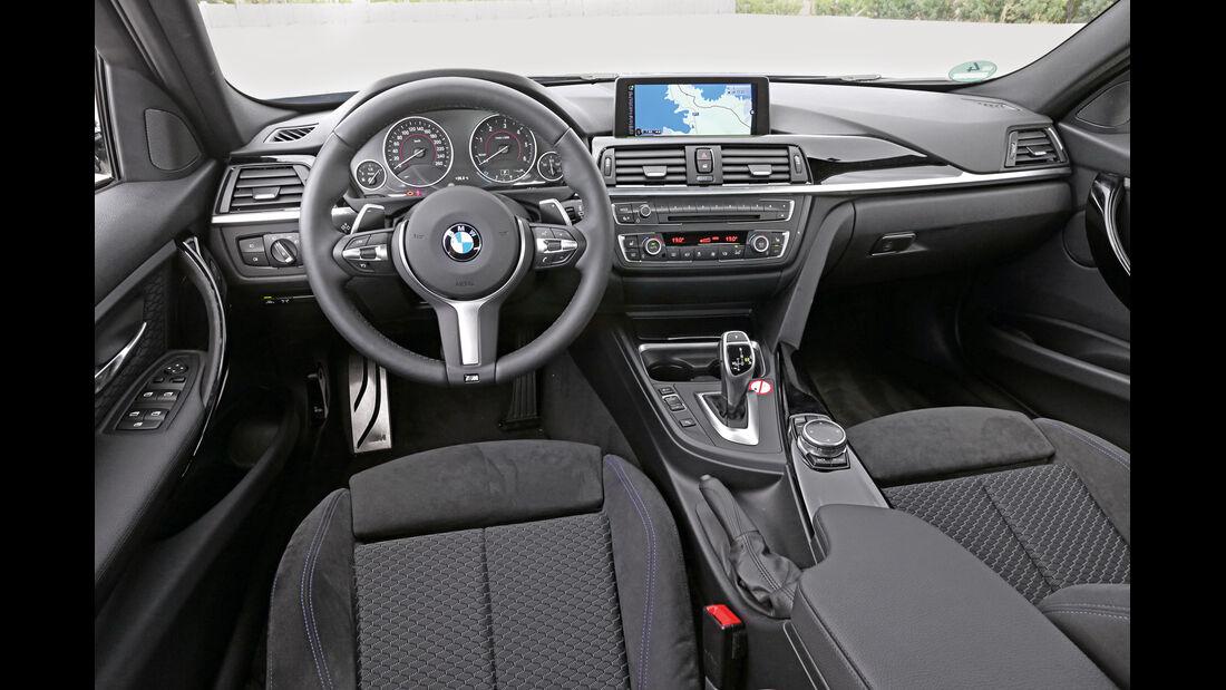 BMW 325d Touring, Cockpit