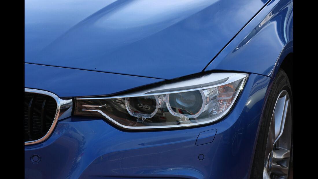 BMW 325d Touring, Frontscheinwerfer