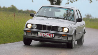 BMW 325e, Frontansicht