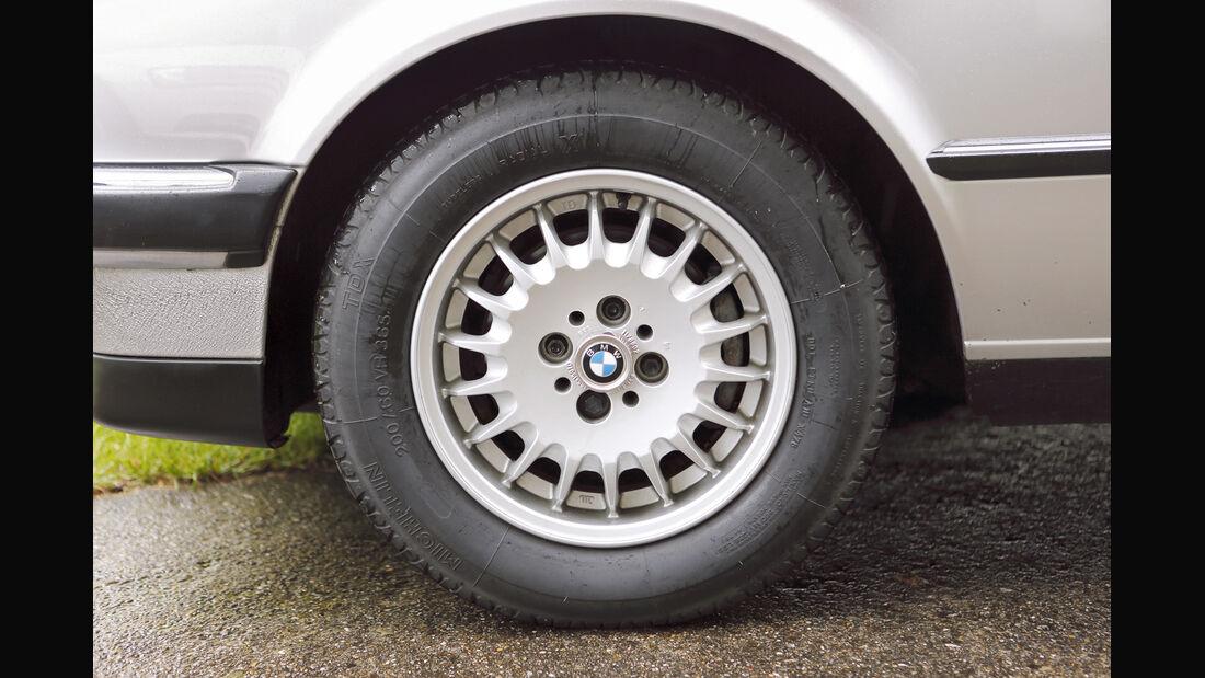 BMW 325e, Rad, Felge
