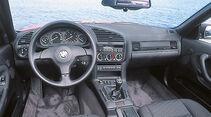 BMW 325i Cabrio, Cockpit
