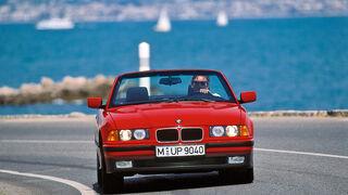 BMW 325i Cabrio, Frontansicht