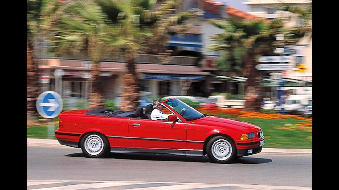 BMW 325i Cabrio, Seitenansicht