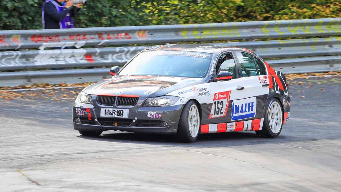 BMW 325i E90 - KKrämer Racing - Startnummer #152 - Klasse: V4 - 24h-Rennen - Nürburgring - Nordschleife - 24. bis 27. September 2020
