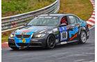 "BMW 325i E90 - ""NexD e.K."" - Startnummer: #180 - Bewerber/Fahrer: Matthias Trinius, Petra Baecker, Alexander Huber - Klasse: V4"