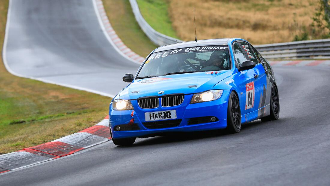 BMW 325i E90 - Startnummer #151 - Klasse: V4 - 24h-Rennen - Nürburgring - Nordschleife - 24. bis 27. September 2020