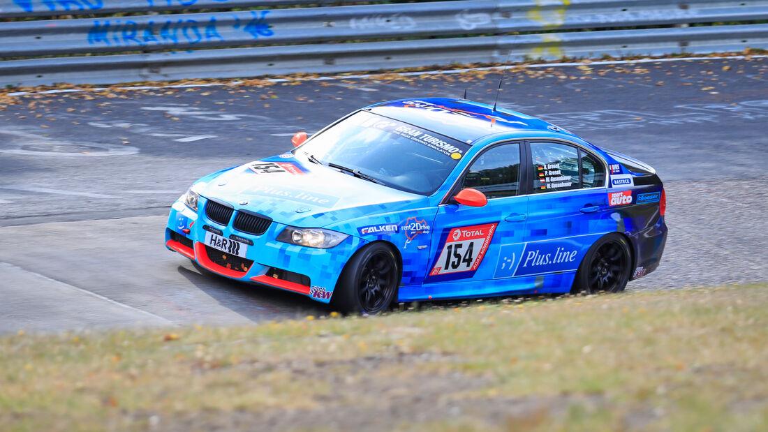 BMW 325i E90 - rent2Drive-Familia Racing - Startnummer #154 - Klasse: V4 - 24h-Rennen - Nürburgring - Nordschleife - 24. bis 27. September 2020