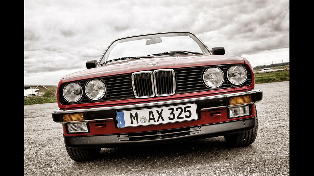 BMW 325i, Front, Kühlergrill
