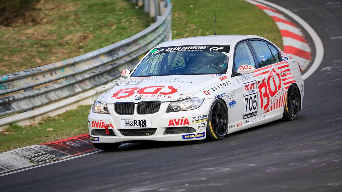 BMW 325i - Startnummer #705 - Team AVIA Sorg Rennsport - V4 - NLS 2021 - Langstreckenmeisterschaft - Nürburgring - Nordschleife