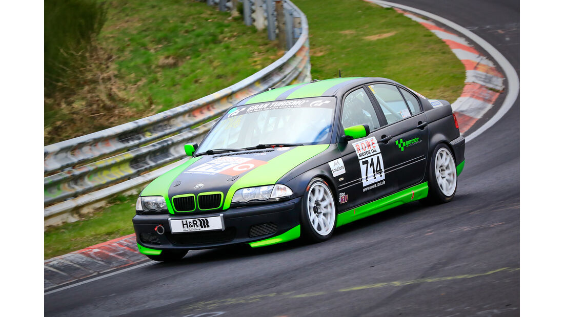 BMW 325i - Startnummer #714 - V4 - VLN 2019 - Langstreckenmeisterschaft - Nürburgring - Nordschleife