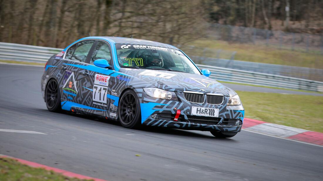 BMW 325i - Startnummer #717 - V4 - NLS 2021 - Langstreckenmeisterschaft - Nürburgring - Nordschleife