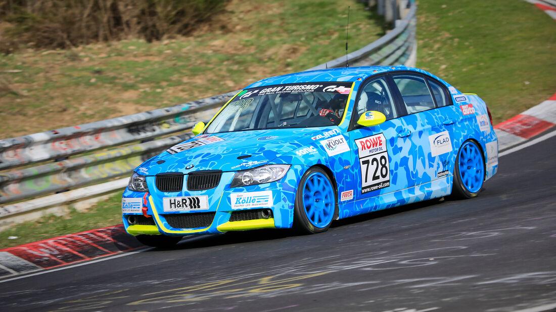 BMW 325i - Startnummer #728 - V4 - NLS 2021 - Langstreckenmeisterschaft - Nürburgring - Nordschleife