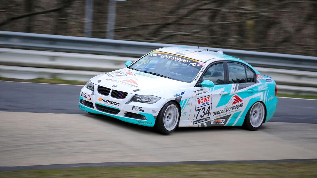 BMW 325i - Startnummer #734 - V4 - NLS 2021 - Langstreckenmeisterschaft - Nürburgring - Nordschleife