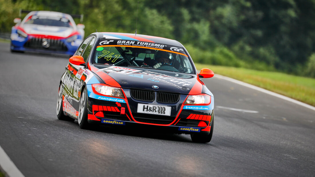 BMW 325i - Startnummer #741 - SFG Schönau e.V. im ADAC - V4 - NLS 2021 - Langstreckenmeisterschaft - Nürburgring - Nordschleife