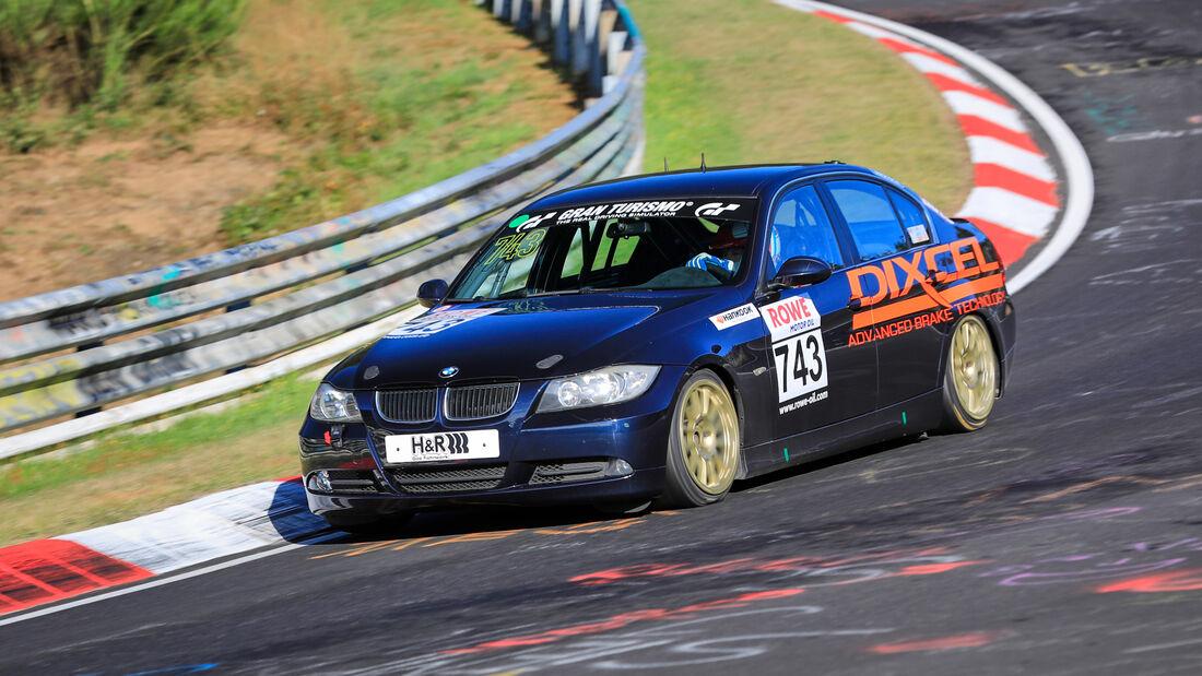 BMW 325i - Startnummer #743 - V4 - NLS 2020 - Langstreckenmeisterschaft - Nürburgring - Nordschleife
