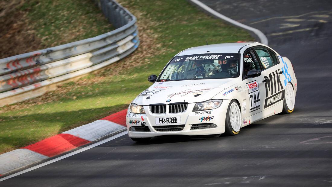 BMW 325i - Startnummer #744 - MSC Adenau e. V. im ADAC - V4 - NLS 2021 - Langstreckenmeisterschaft - Nürburgring - Nordschleife