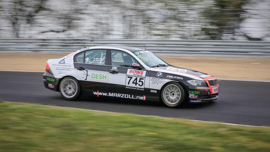 BMW 325i - Startnummer #745 - Hofor Racing - V4 - NLS 2021 - Langstreckenmeisterschaft - Nürburgring - Nordschleife