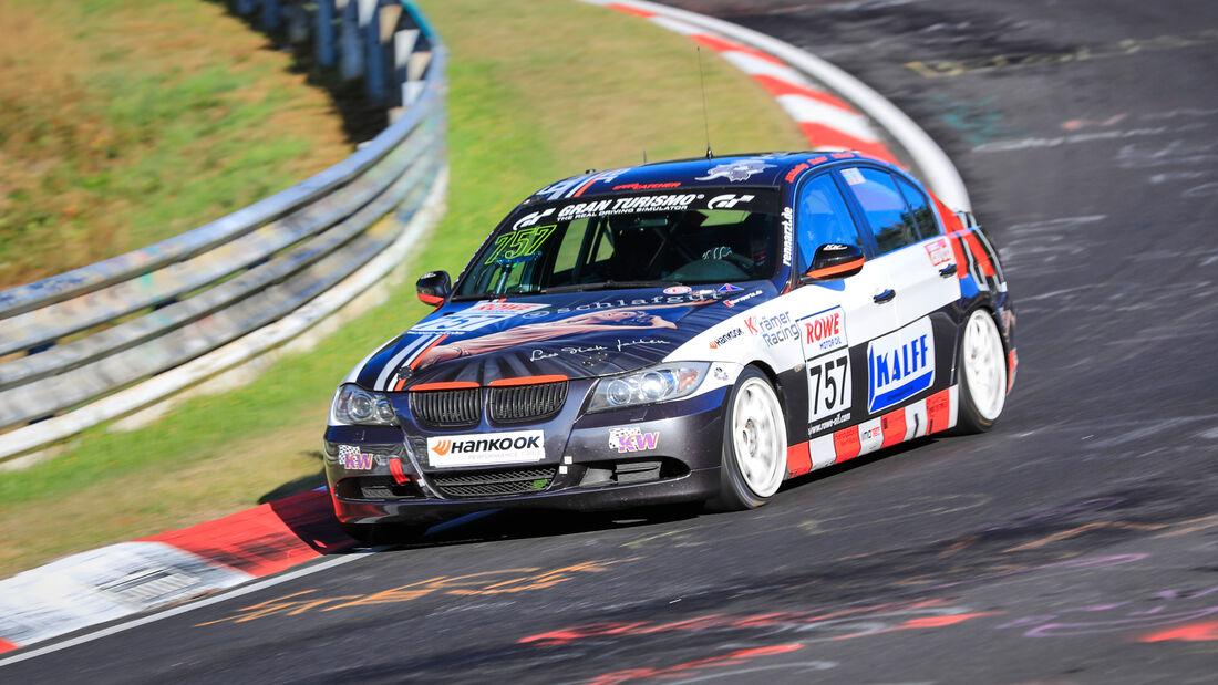 BMW 325i - Startnummer #757 - KKrämer Racing - V4 - NLS 2020 - Langstreckenmeisterschaft - Nürburgring - Nordschleife