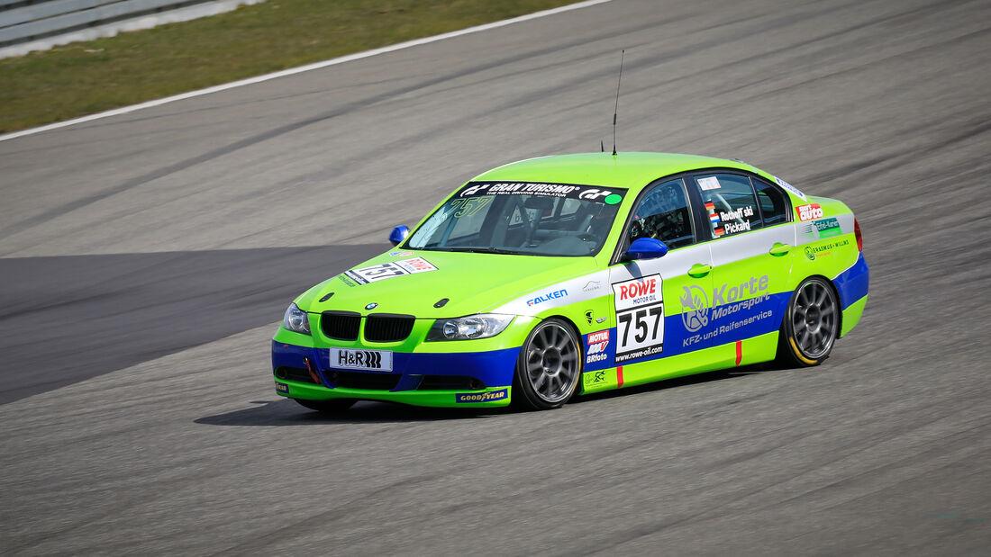 BMW 325i - Startnummer #757 - V4 - NLS 2021 - Langstreckenmeisterschaft - Nürburgring - Nordschleife