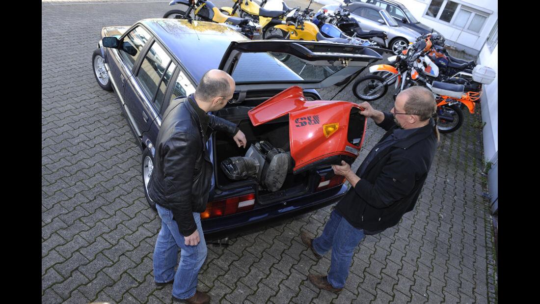 BMW 325i Touring, Bayer/Siebenrock, Ersatzteile