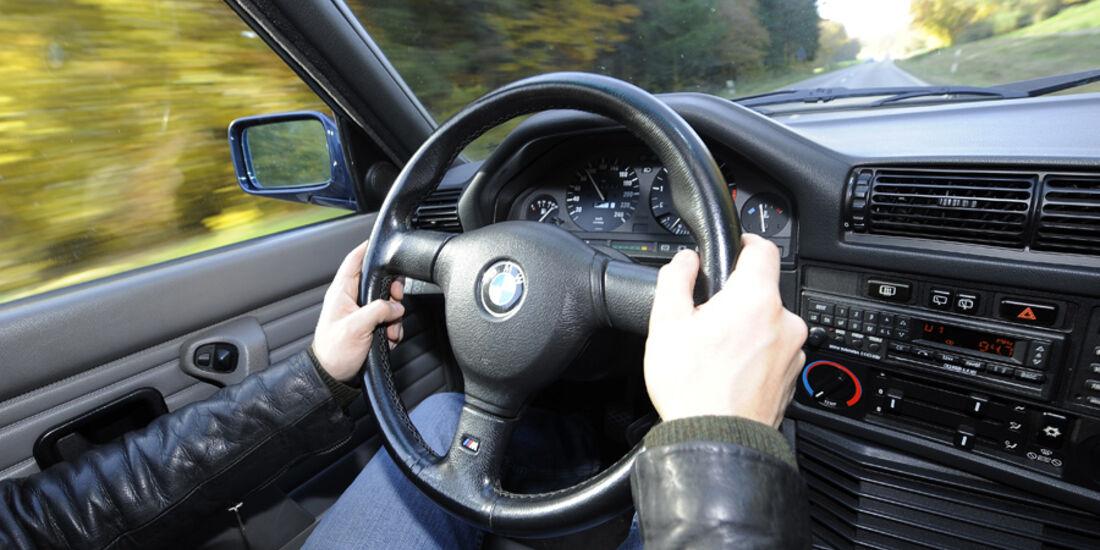 BMW 325i Touring, Cockpit, Detail