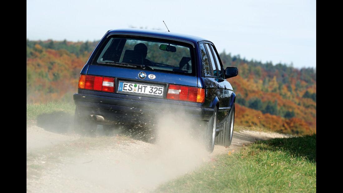 BMW 325i Touring (E 30), Heck