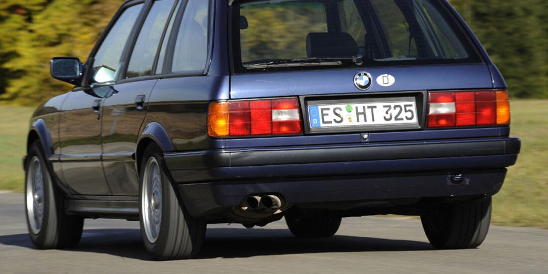 BMW 325i Touring, Heck