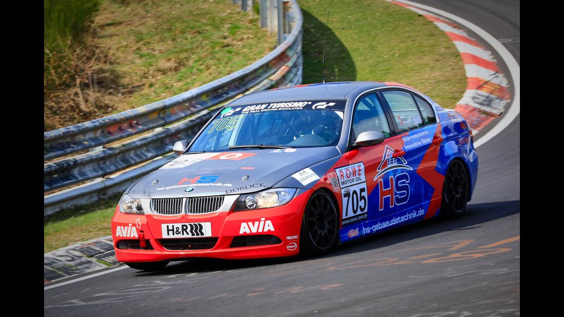 BMW 325i e90 - Startnummer #705 - Team AVIA Sorg Rennsport - V4 - VLN 2019 - Langstreckenmeisterschaft - Nürburgring - Nordschleife