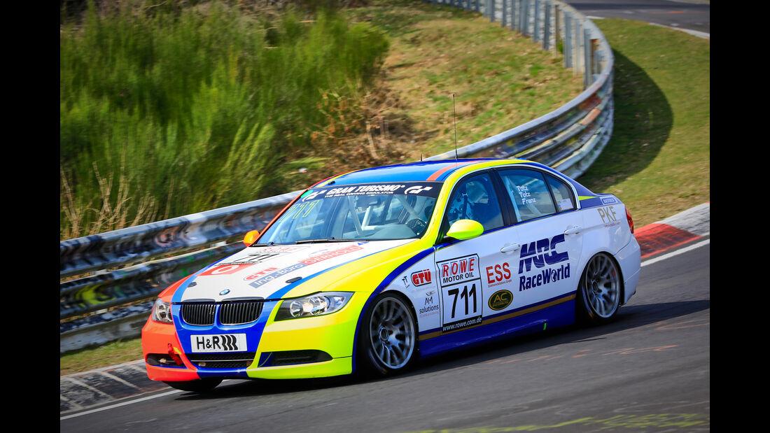 BMW 325i e90 - Startnummer #711 - Scuderia Solagon - V4 - VLN 2019 - Langstreckenmeisterschaft - Nürburgring - Nordschleife