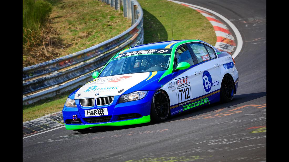 BMW 325i e90 - Startnummer #712 - Scuderia Solagon - V4 - VLN 2019 - Langstreckenmeisterschaft - Nürburgring - Nordschleife