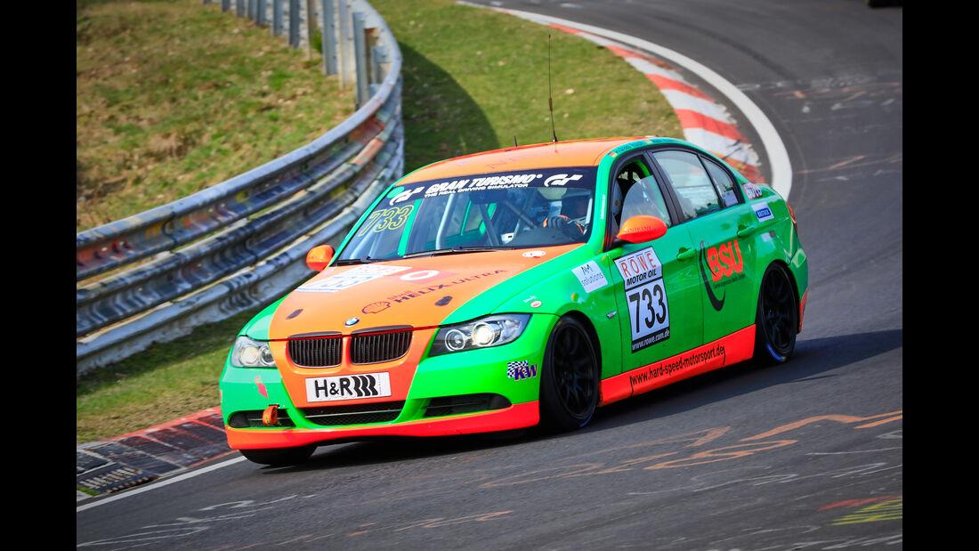 BMW 325i e90 - Startnummer #733 - V4 - VLN 2019 - Langstreckenmeisterschaft - Nürburgring - Nordschleife