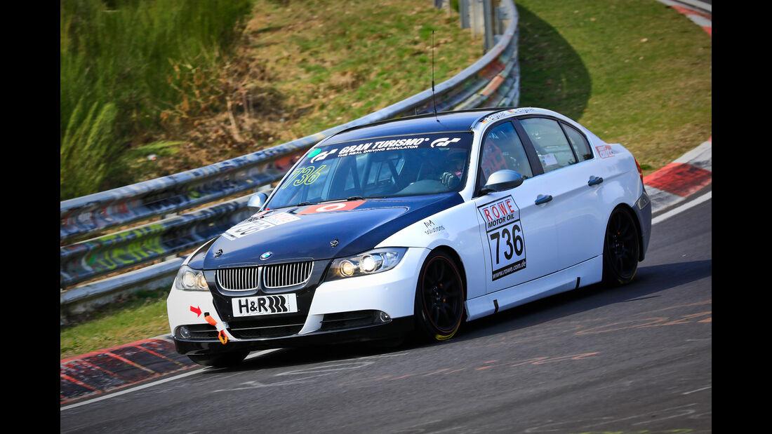 BMW 325i e90 - Startnummer #736 - Lubner Motorsport - V4 - VLN 2019 - Langstreckenmeisterschaft - Nürburgring - Nordschleife