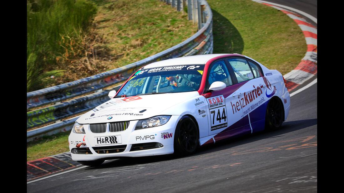 BMW 325i e90 - Startnummer #744 - MSC Adenau e. V. im ADAC - V4 - VLN 2019 - Langstreckenmeisterschaft - Nürburgring - Nordschleife