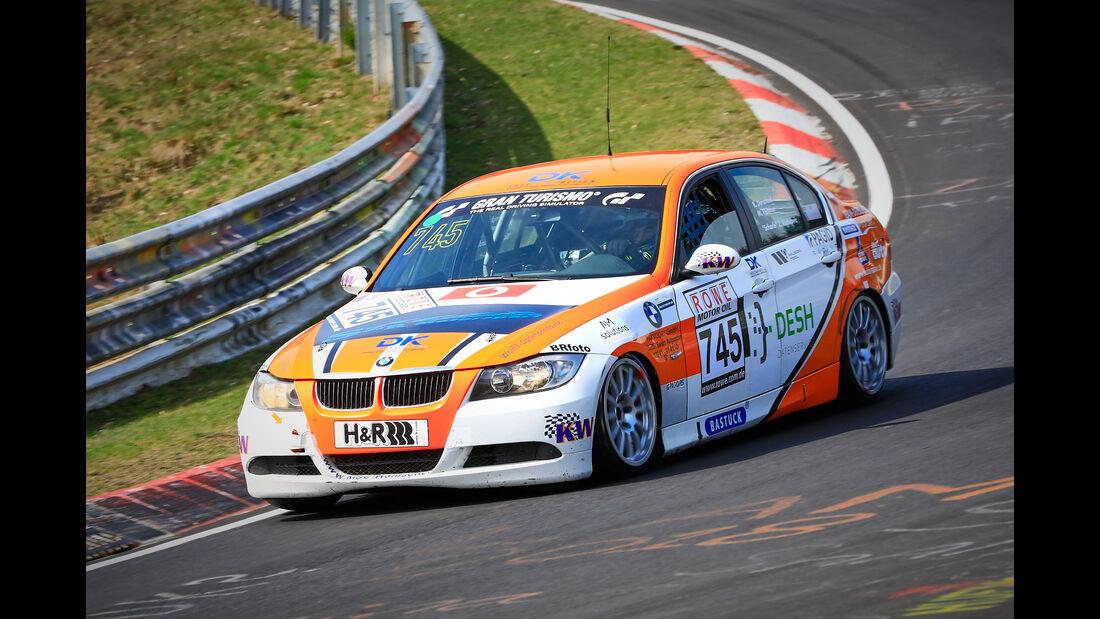 BMW 325i e90 - Startnummer #745 - Hofor Racing - V4 - VLN 2019 - Langstreckenmeisterschaft - Nürburgring - Nordschleife