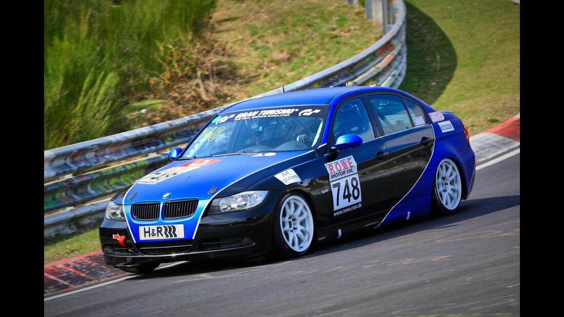 BMW 325i e90 - Startnummer #748 V4 - VLN 2019 - Langstreckenmeisterschaft - Nürburgring - Nordschleife