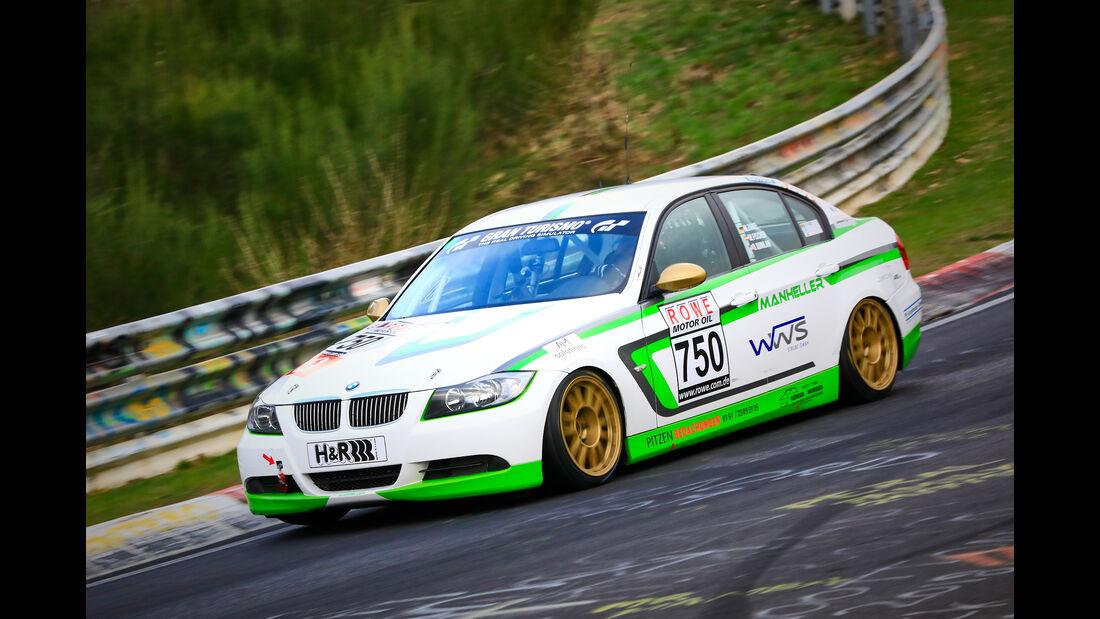 BMW 325i e90 - Startnummer #750 - Manheller Racing - V4 - VLN 2019 - Langstreckenmeisterschaft - Nürburgring - Nordschleife