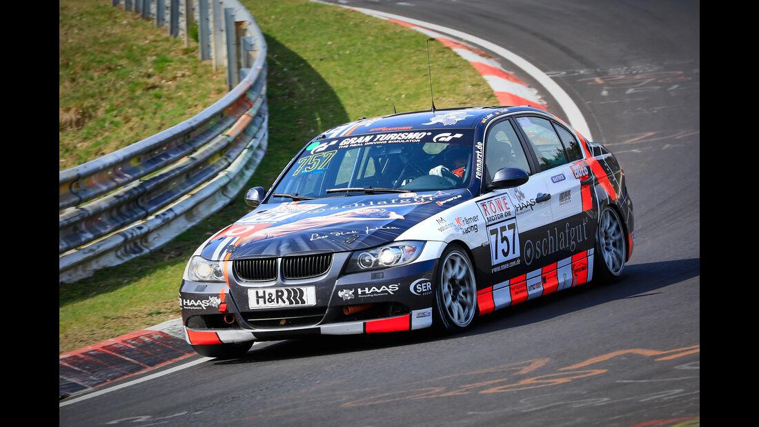 BMW 325i e90 - Startnummer #757 - Krämer Racing - V4 - VLN 2019 - Langstreckenmeisterschaft - Nürburgring - Nordschleife