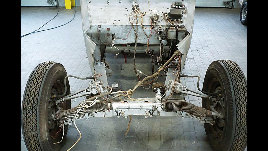 BMW 328, Achse