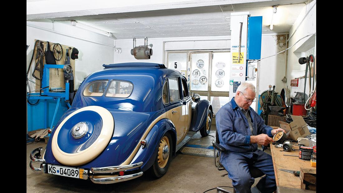 BMW 328, Heckansicht, Lothar Scherb