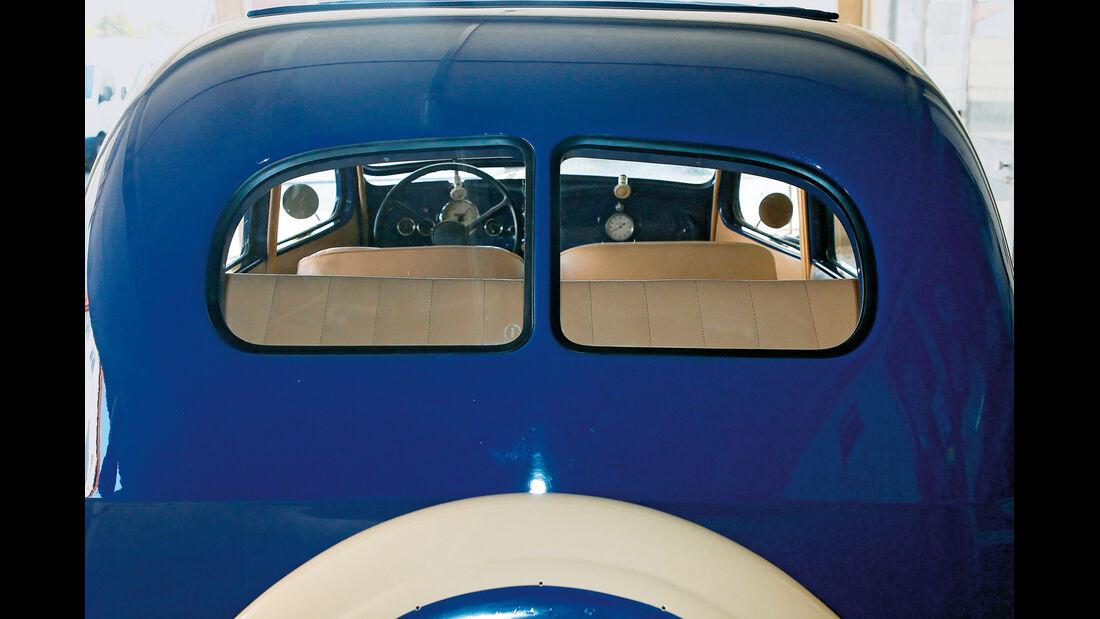 BMW 328, Heckfenster