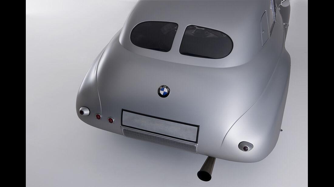 BMW 328 Kamm Coupé - Das Heck