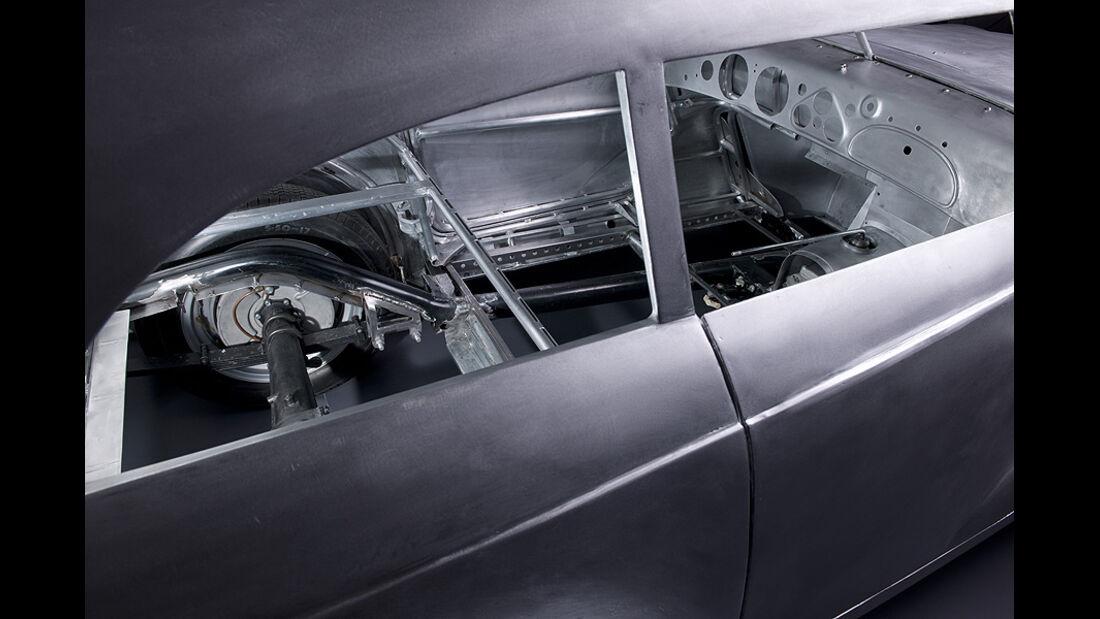BMW 328 Kamm Coupé - Während der Aufbauphase