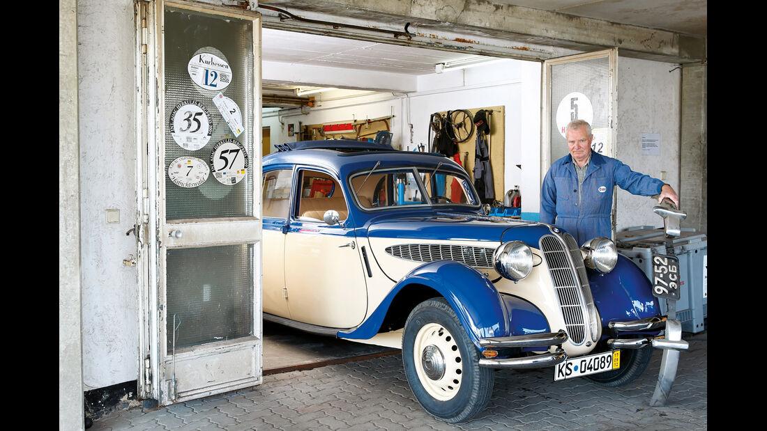BMW 328, Lothar Scherb, Frontansicht