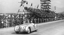 """BMW 328 """"Mille Miglia"""" Roadster während des I. Gran Premio Brescia delle Mille Miglia, 28.04.1940"""