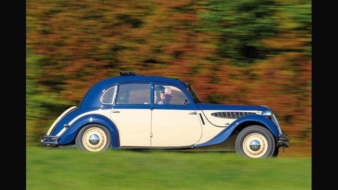 BMW 328, Seitenansicht